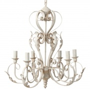 LAMPA LIŚCIE ANTIQUE CHIC LIGHT