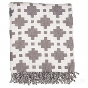 PLED Blanket Sasha Dark Grey Green Gate