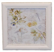 OBRAZ FLOWER Antique White 1