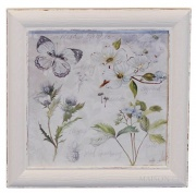 OBRAZ FLOWER Antique White 2