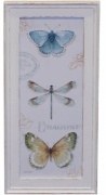 OBRAZ Butterfly Antique White 4