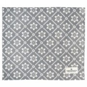 OBRUS Luna Warm Grey Green Gate 150 x 150 cm
